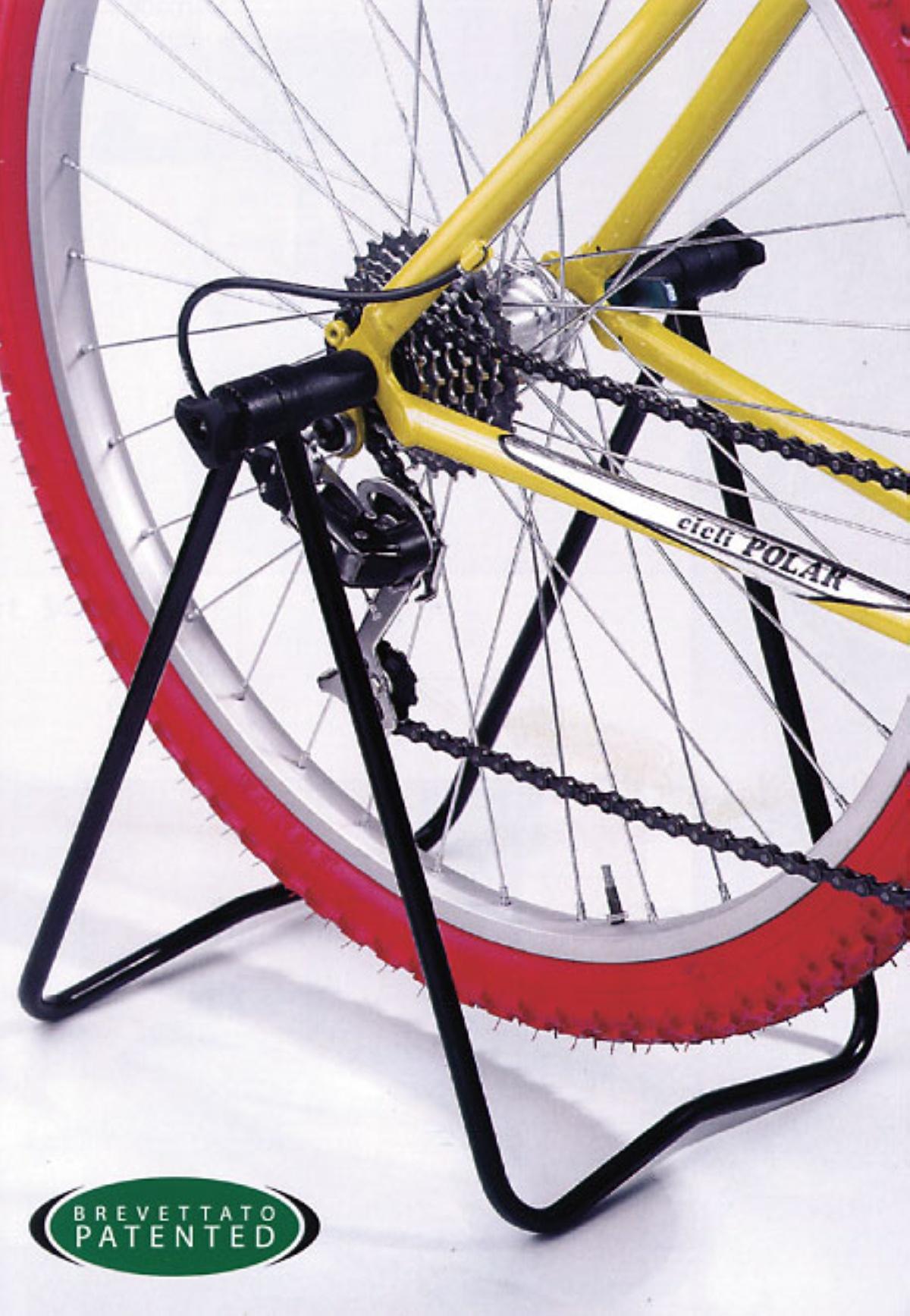 Подставка для заднего колеса велосипеда
